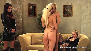 Chained Lesbian Slave Have Lustful Dreams About Mistress