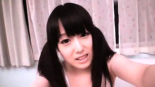Machiko Ono rubs her clit at the camera