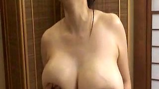 Big Japanese milk juggs
