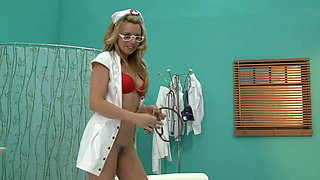 Nurse Lexi Belle fucked in POV