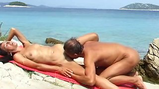 Nude Beach Fuck and Cum by ahcpl