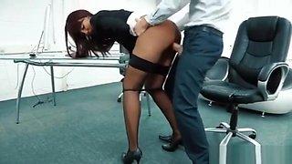 Office creampie