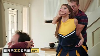Brazzers - Teens like it BIG - Gia Derza Xander Corvus - Cheeky Cheerleader