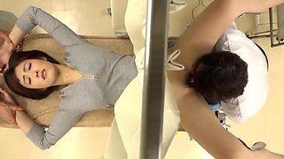 Asahi Mizuno harassed by doctor during medical checkup