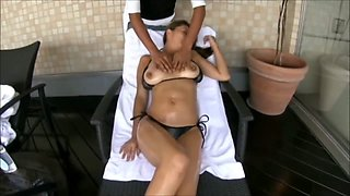 Busty Japanese Babe hazed in the public spa