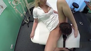 Nurse Wanks And Fucks Patients Cock