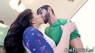 Mandy muse got her ass rimmed and pussy doggystyle fucked