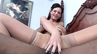 Phoenix Marie is having a time of her life on his long black dong