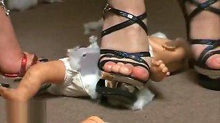 baby doll destruction