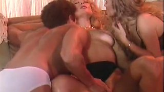 Crazy bald classic scene with Tom Byron and Viper